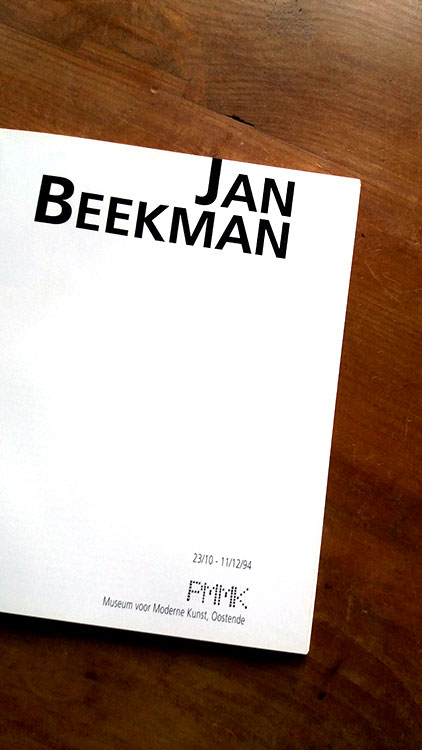 jan beekman cataloque