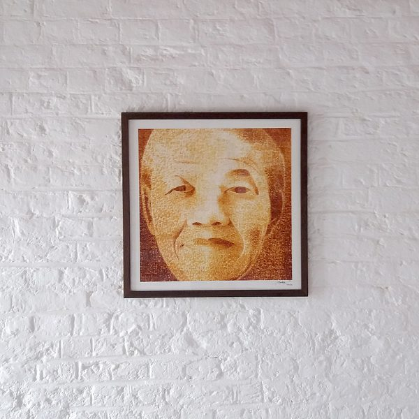 Nelson Mandela Silk Screen print