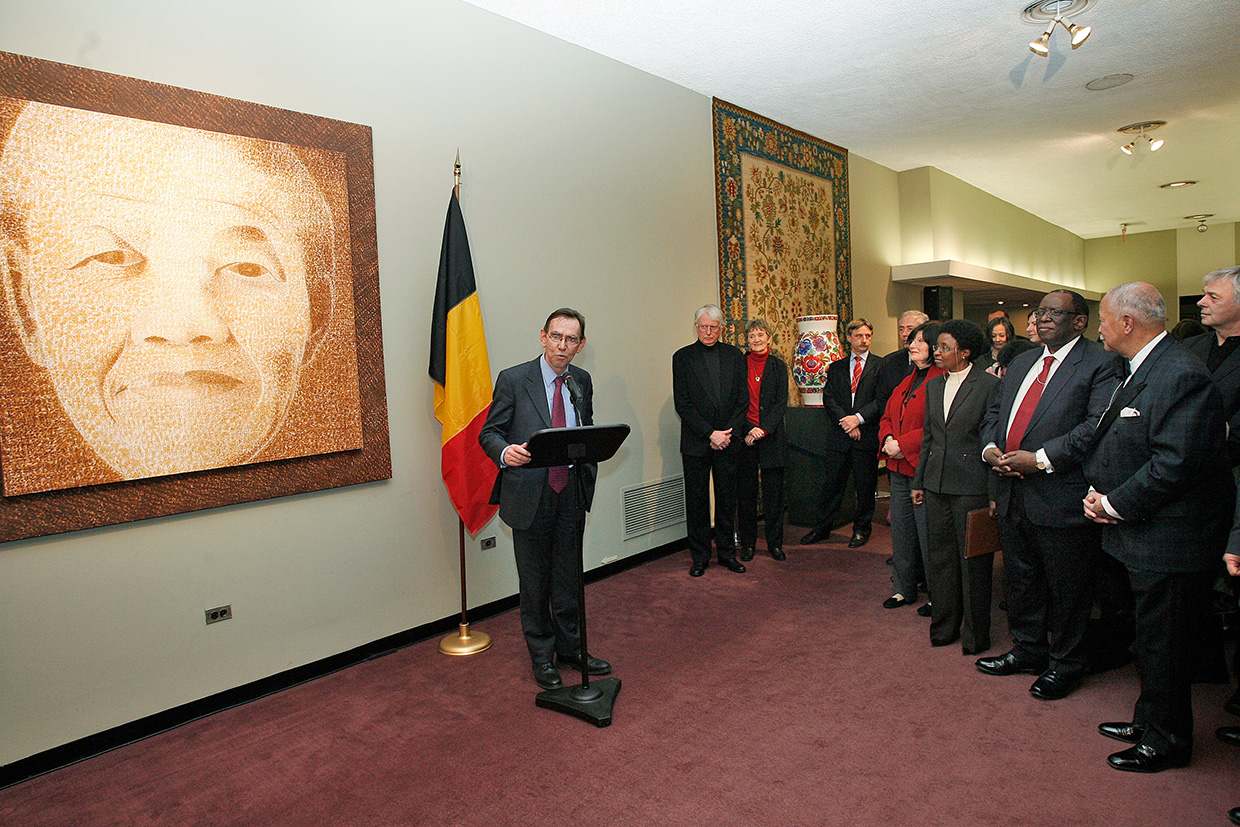 Belgian Mission to the United Nations Nelson Mandela