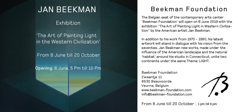 jan beekman foundation exhibition